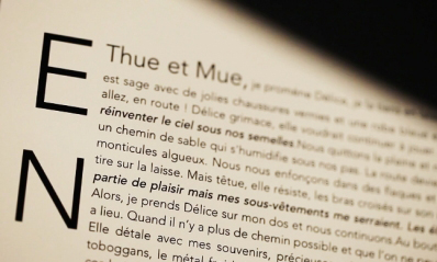 Entre Thue et Mue
